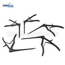Kerrison Rongeurs 6 Black 1 2 3 4 5mm Cervical Orthopedic Surgical