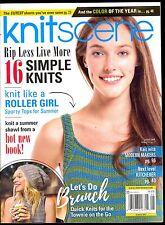 KnitScene Magazine Knit Scene Summer 2017 Interweave Knits