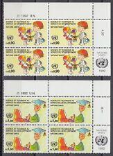 ONU Genève 1992 ** mi.221/22 science science technologie technology [sr2177]