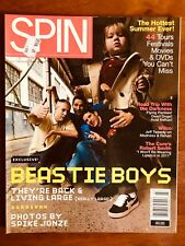 SPIN MAG JULY 04 Beastie Boys, The Cure, Photos by Spike Jonze, Darkness, Wilco!