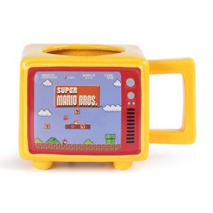 Super Mario Bros - Like a Boss - Retro TV Heat Changing Mug SCMG25954