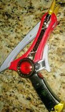 2003 Bandai Power Rangers Red Dino Thunder Sword Saber Gun Blaster Hard to Find