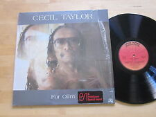 Cecil Taylor - For Olim LP in Shrink Soul Note Italy Free Jazz Piano Ultrasonic
