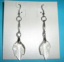 Orecchini Foglia Piccola 8805-26x16 Swarovski Component Original leaf earrings