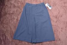Regular Size Solid Below Knee A-Line Skirts for Women