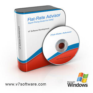 Flat-Rate Pricing Software + Books for HVAC Electrician & Plumbing FRS01