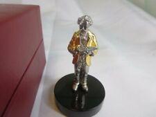 Sterling Silver MARK TWAIN America's Legendary Hero's Franklin Mint Statue
