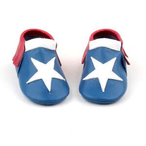 Baby Moccasins Super Hero Baby shoes toddler moccasin infant boys Marvels loafer