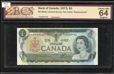 1973 Bank of Canada $1 Replacement Banknote - *FA3029726