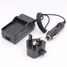 AC/CAR Battery Charger for SAMSUNG SB-LSM80 VP-DC171W VP-D361 MINI DV Camcorder