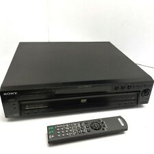 Sony 5 Disc DVD/CD Carousel Changer DVP-NC600 with Remote ~ Tested