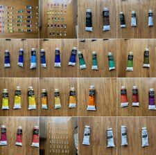 Winsor Newton Oil Water Soluble Artist Quality Paints Series 1, 2 Bulk Lot 37ml