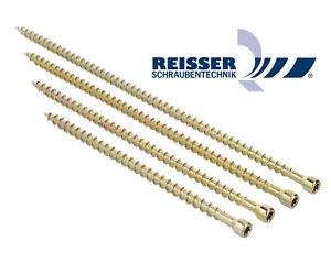 REISSER Konstruktionsschrauben Vollgewinde verz. TORX Holzbau Zylinderkopf