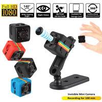 SQ11 HD 1080P Mini Car Hidden DV DVR Camera Spy Dash Cam IR Night Vision LOT
