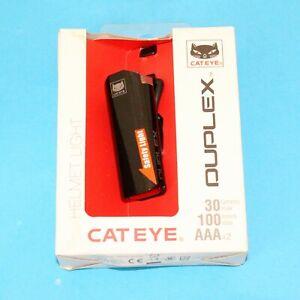 Cateye SL-LD400 Duplex Front/Rear Helmet Light