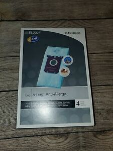 Electrolux Vacuum Bags Anti Allergy EL202F S.Bags High Filtration
