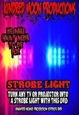 KMP Strobe Light  Halloween TV or Projection Effects DVD Halloween props