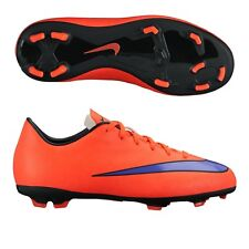 nike youth soccer cleats. nike mercurial victory iv fg 2015 soccer shoes orange / purple kids - youth youth cleats