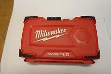 MILWAUKEE SHOCKWAVE BRAND NEW CASE FOR BITS #2
