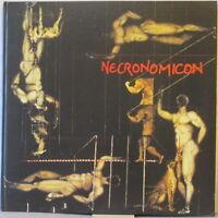 NECRONOMICON Vier Kapitel 4-LP Hard Cover Book GERMAN PSYCH #d Ltd. Ed. w/poster