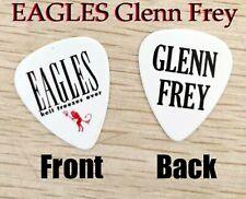 Eagles band Glenn Frey signature Hell Freezes Over logo guitar pick (W-F15)