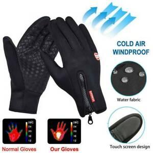 Men Women Winter Warm Waterproof Windproof Thermal Touch Screen Gloves Mittens~~