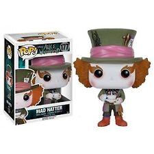 Funko Cappellaio Matto Mad Hatter Alice 2010 Pop 6709 Disney Figura 9 Cm