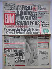 Bild Zeitung 23.10.1984, Juhnke, Isabella Ferrari, Samantha Fox, Leonard Nimoy