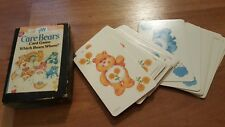CARE BEARS CARD GAME - WHICH BEARS WHERE? - 34 CARDS by AGC, 1983 Vintage 1980's
