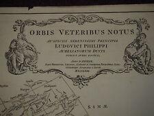 1763 ORBIS VETERIBUS NOTUS LUDOVICI PHILIPPI BY DANVILLE INDIA PERSIA BACTRIA