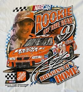 NASCAR Vintage 1999 TONY STEWART Rookie of the Year T-Shirt NEW L Free Shipping