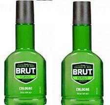 Brut Cologne Classic Fragrance Eau de Cologne Spicy Wood 5oz Bottles of 2 Pack