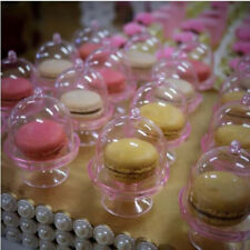 20PCS Transparent Plastic Candy Boxes Wedding Favor Boxes Baby Shower Gift Box