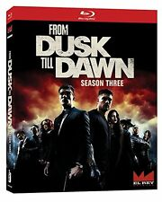 From Dusk Till Dawn: The Series - Season Three (Blu-ray Disc, 2017, 3-Disc Set)