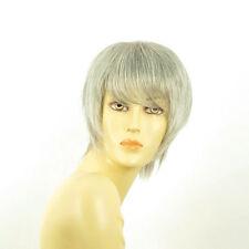 Perruque femme grise cheveux lisses ref  CANDICE 51