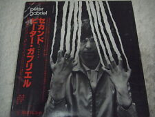 PETER GABRIEL JAPAN 1st.Press Promo White Label w/OBI Genesis Pink Floyd Yes