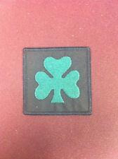 Royal Irish Rangers (Shamrock) TRF 65mm x 65mm