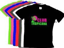 Club Tropicana Unisex WHAM Black T Shirt S-XXL 10-20