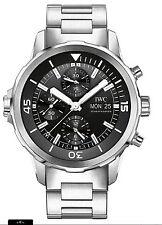 IWC Armbanduhren im Luxus-Stil mit 12-Stunden-Zifferblatt