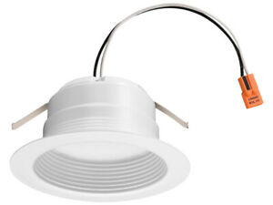 "Lithonia Lighting E-Series 4"" 3000K LED 720 Lumens Recessed Downlight"