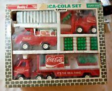 Vtg  Buddy L 5 Piece Brute Coca Cola Transport Set #4973 Original Packaging