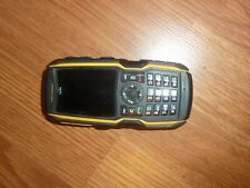 SONIM IP-68 H2O SUBMERSIBLE,SHOCKPROOF BLACK & YELLOW RUGGED CELL PHONE AS-IS
