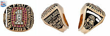 1993 NCAA National Championship (Original Player 10k Gold Ring) PSA Authentic