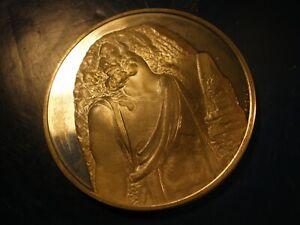 Over 1 Oz ASW St Mathew Art Round Genius of Michelangelo ALMOST 40 GRAMS