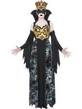 Phantom Queen L UK 16/18 Halloween Deluxe Costume *SALE* Ladies Fancy Dress