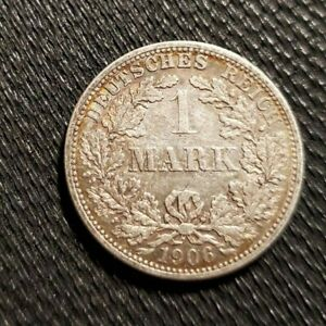 1906 F 1 Mark Germany - Empire Mark
