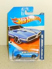 HOT WHEELS- '67 PONTIAC FIREBIRD 400 (LIGHT BLUE)- NEW ON CARD- L168