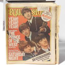 The Beatles ROLLING STONE Magazine Issue 217 Lennon McCartney Starr July 15 1976