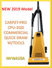 2019 CARPET-PRO VACUUM CLEANER CPU-3QD 1ofTheBest COMMERCIAL QUICK DRAW W/TOOLS
