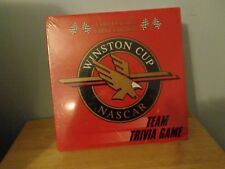 COLLECTOR STOCK CAR WINSTON CUP NASCAR RACING TEAM TRIVIA 4-6 PLAYER TOY GAME